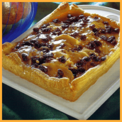 Apfel-Marzipan-Kuchen und Bananen-Kiwi-Tarte