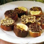 Biskuit-Pralinchen und feine Müsli-Leckerei