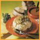 Blumenkohl polnische Art und Broccoli mit Käse Soße Gemüse, Kartoffeln
