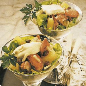 Rosencocktail ,Meeresfrucht- Cocktail und Crabmeat-Cocktail
