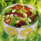 Fantasie-Salat und gesunder Salat nach Art von Nizza
