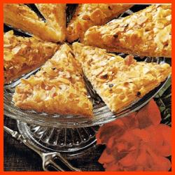 Feigenkuchen und Apfelecken