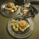 Fischfilet in Alufolie und Festtagsschollen mit Spinat