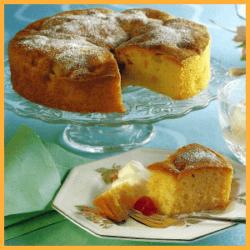 Fruchtcocktail Kuchen und Korinthen Rehrücken