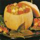 Gefüllte Melone mit Obst und Knusprige Aprikosentorte