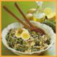 Grünkohlsalat Die Überraschung und Avocado- Hähnchensalat