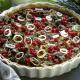 Hühnerleber-Pie mit Johannisbeeren und Broccoli-Quiche