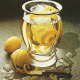 Kalte Ente ,Rhabarbersuppe und Sago- Fruchtkaltschale