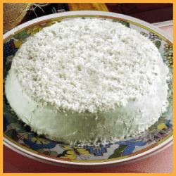 Kokoskuchen mit Glasur und Zimt-Walnuss-Kuchen