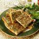 Kräuter-Käse-Kuchen, saftiger Blechkuchen, Backrezept