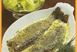 Kräuterforellen in Sahnesoße und Forellen in Mandel-Ingwer-Soße