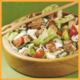 Grilllachs Salat mit Eiern und Luxus Toast und Festkotelett
