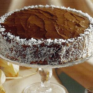 Madeleines und Kakao-Kaffee-Kuchen