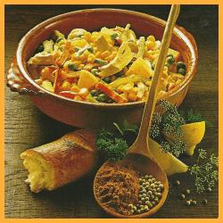 Mexikanischer Salat und Kohlsalat in Käsemarinade