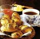 Morgenbrötchen und Mohnbrötchen und Kümmelschnecken