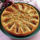 Rhabarberkuchen und Honig-Mandel-Schnitten