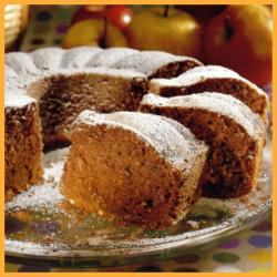 Rotwein-Apfel-Kuchen und Kiwi-Kastenkuchen