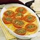 Schinkenauflauf mit Kräutertomaten und Tomaten Fleisch