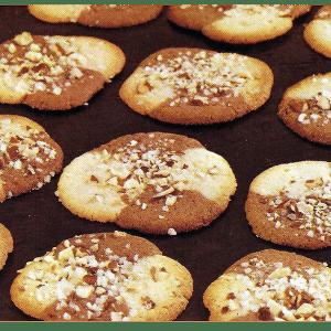 bunte rolle kekse