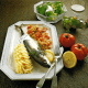 Zoppoter Frische Makrele und Pikanter Fischauflauf