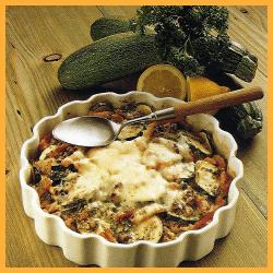 Zucchini-Auflauf und Pikanter Wirsing-Kartoffelauflauf