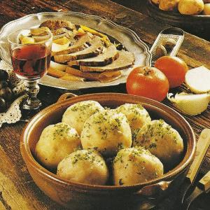 Deftige Kartoffelpuffer und Vogtländer Klöße
