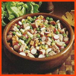Wurstsalat und Herzhafter Salami-Salat