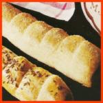 Brot das man einfach abbricht und Kasten-Weißbrot und Brötchen