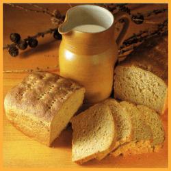 Joghurtbrot und Russisches Brot