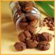 Mandelherzen und Kakaoplätzchen