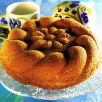 Kokos-Vanille-Rolle und Apfelkuchen