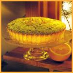 Orangenkuchen und Traubenkuchen