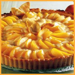 Pfirsich-Orangen-Tarte und Pflaumen-Mandel-Kuchen