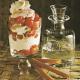 Sahne-Kirschbecher und Zarte frische Obst- Törtchen