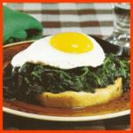 Selleriemedaillons und spanischer Salat