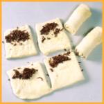 Schokoladen-Croissants und Gefüllte Croissants