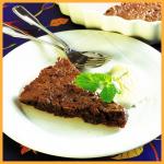 Schokoladen-Haselnuß-Kuchen