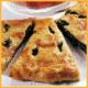 Spinat-Pirogge und Schnelle Salami-Pizza